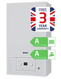 "BAXI ""A"" RATED COMBI BOILER"